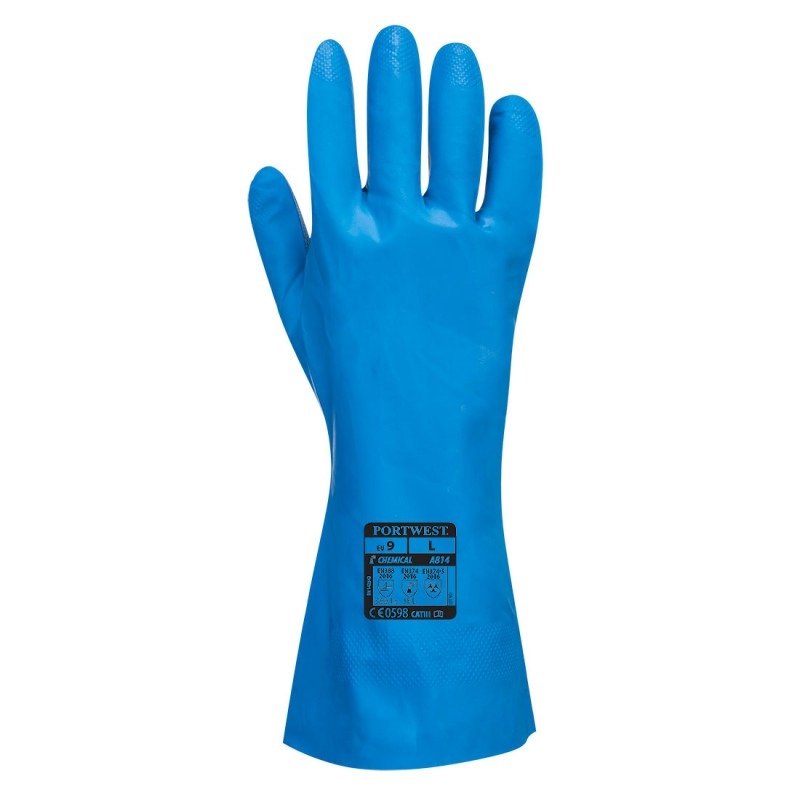 gants Nitrile Contact Alimentaire