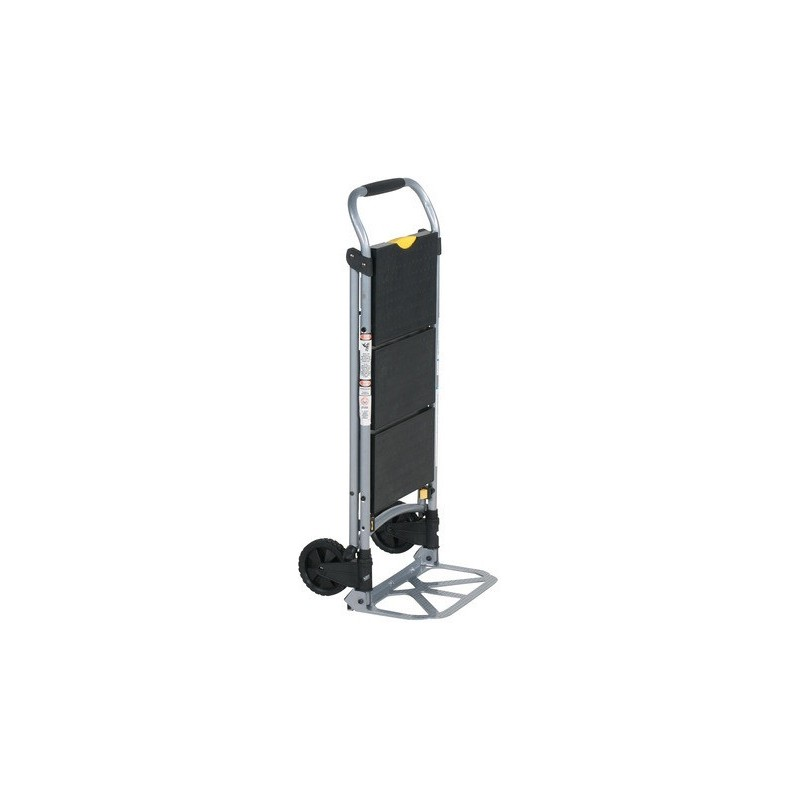 Hand truck with ladder
