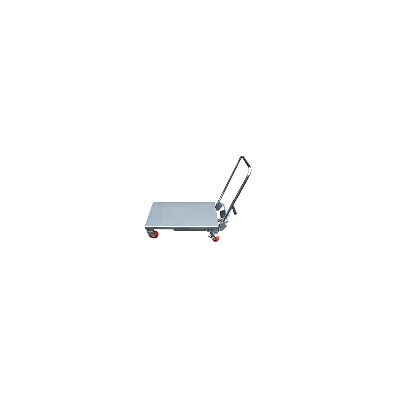 BAL100 Manual aluminium lifting table for loads up to 100 kg