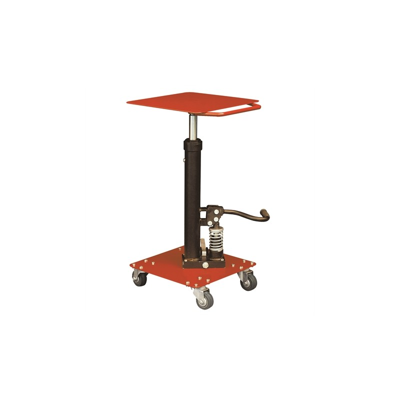Hydraulic levelling table