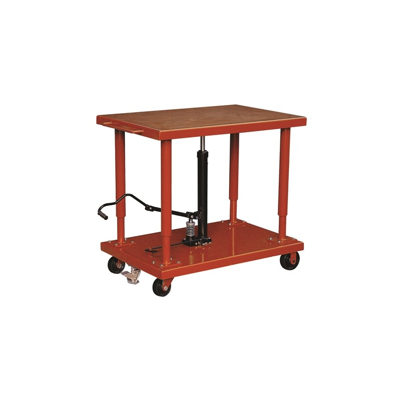 MD6059A Hydraulic levelling table 2700 kg dimensions 915 x 610 mm