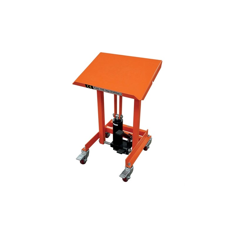 XH15A Lectern stand with lifting and tilting platform 150 kg