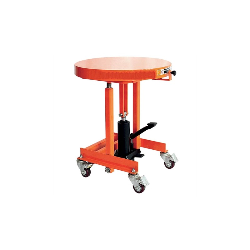 Round lifting table