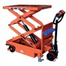 ESM80D Motorized lifting table 800 kg lifting height 460 / 1850 mm
