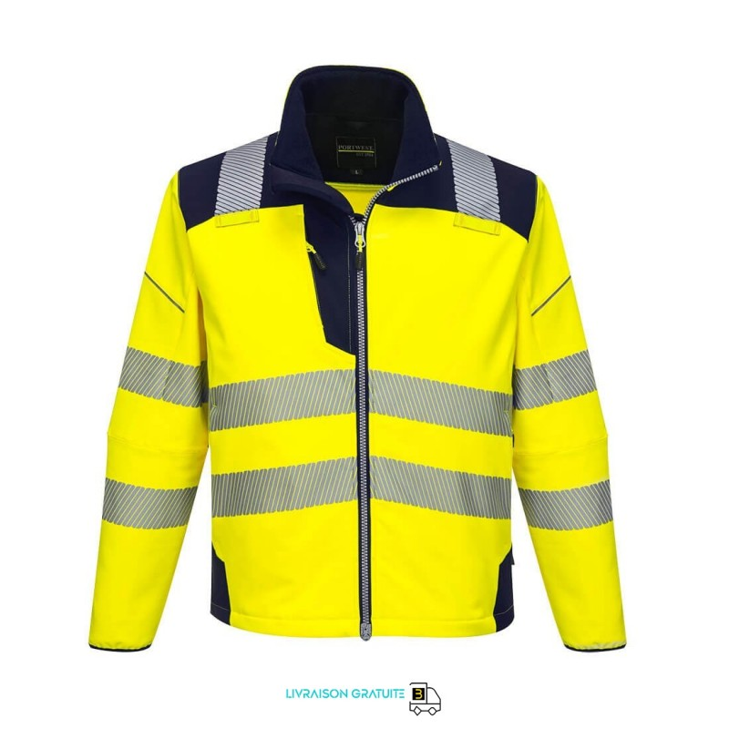 T402 - Softshell High Visibility PW3