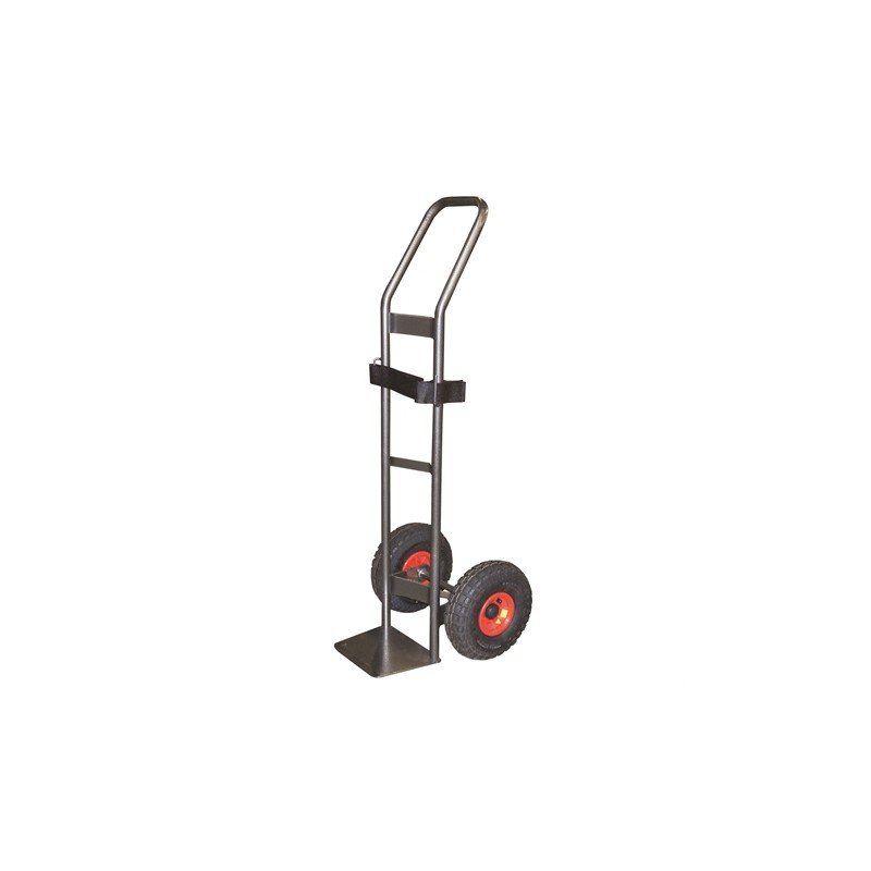 Diable pour charge cylindrique 200 kg roues gonflables (RG)